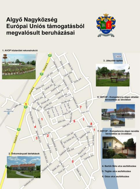 algyő térkép Délinapfény Leader Akciócsoport algyő térkép
